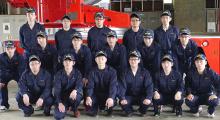 任期付消防団員